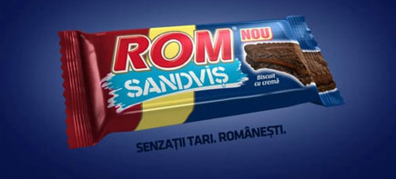 Rom Sandvis TV Commercial