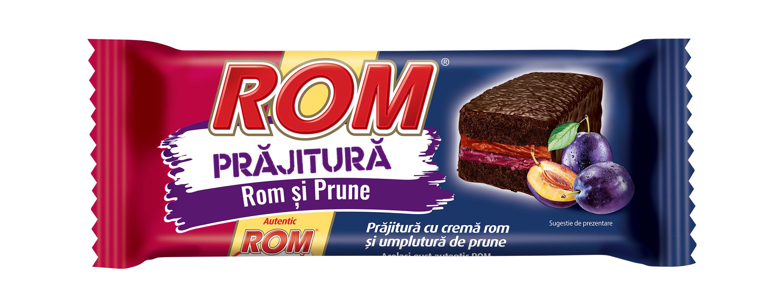 Rom Cake with Rum and Plum Cream 24x35g