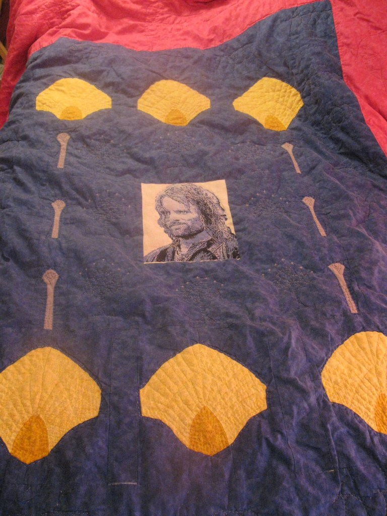 "Alt=""Return of the King quilt"""