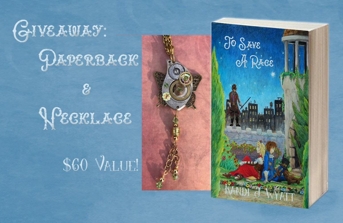 Release Day Giveaway–Win an Awesome Steampunk Necklace