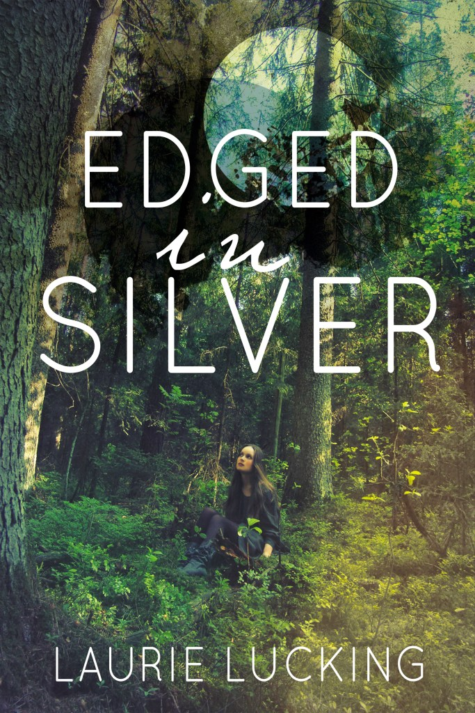 """img=""""Edged in Silver cover art by Laurie Lucking"""""""