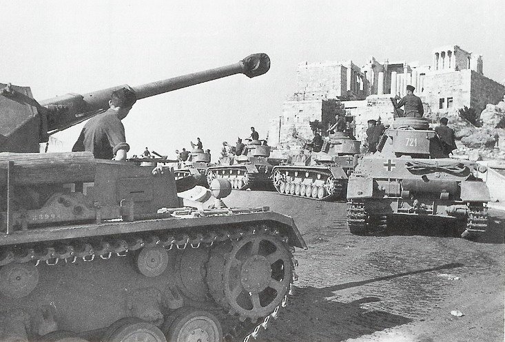 German Army in Athens