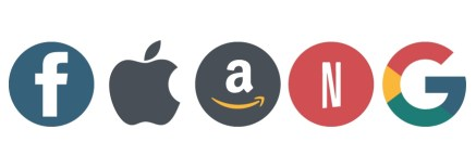 Face.book, Apple, Amazon, Netflix, Google
