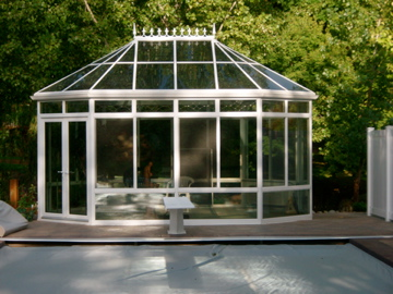 Pool and spa enclosure