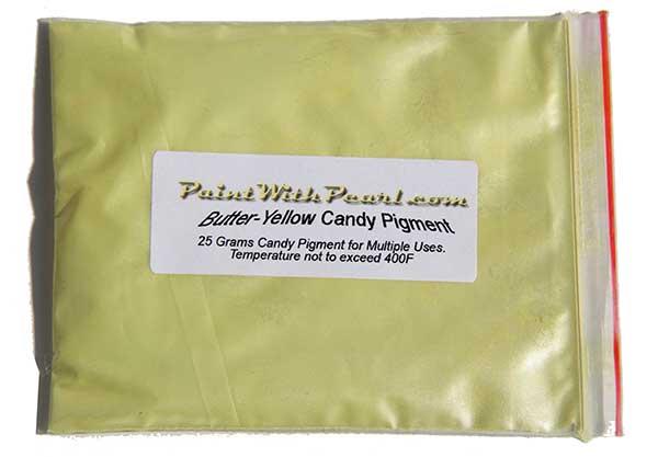 25 Gram Bag Butter Yellow Kandy Paint Pearl.