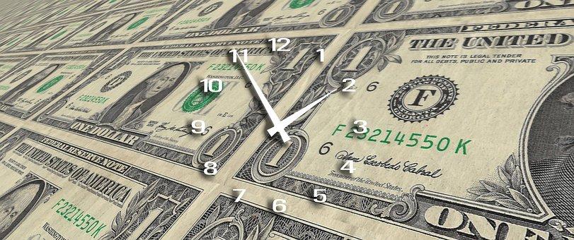 clock-money