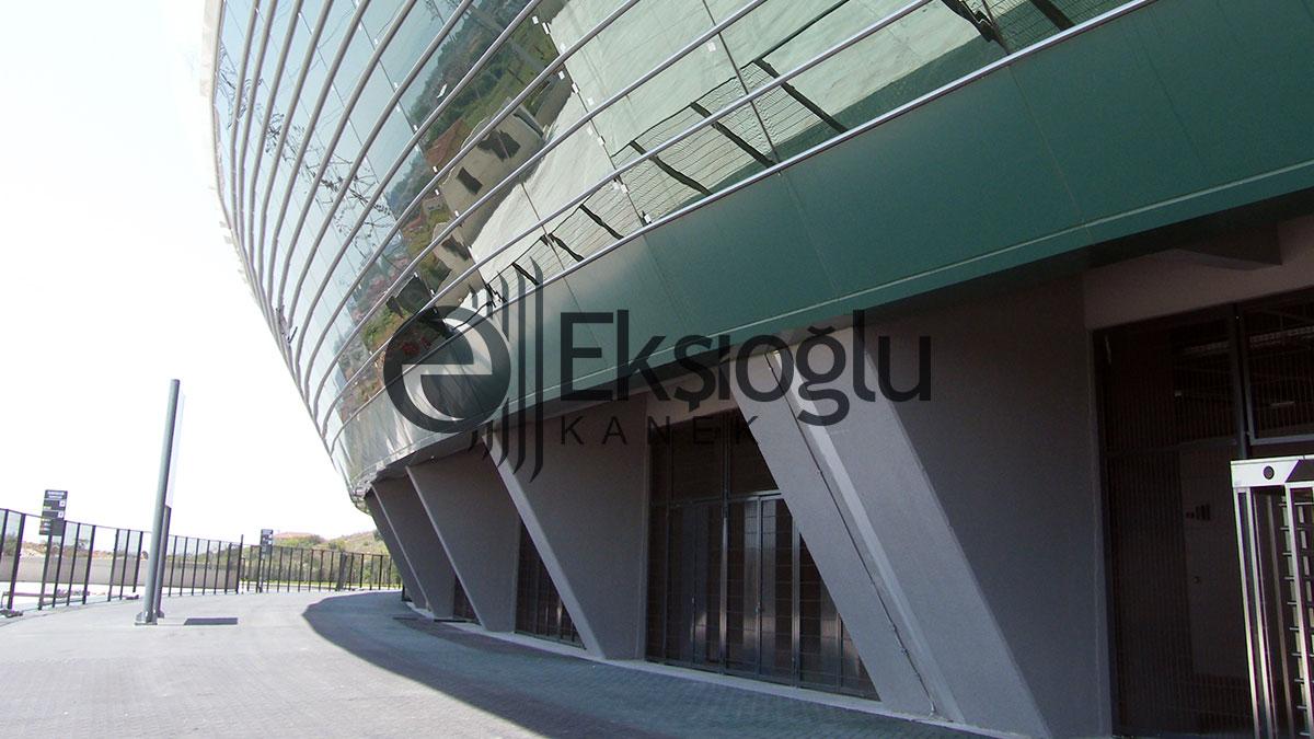kocaeli stadyumu güvenlik ve misafir kapıları