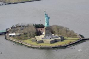 the statue of liberty in NYC