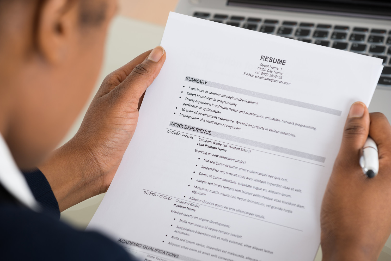 Creating An Impactful Resume