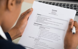 Resume tips for job seekers