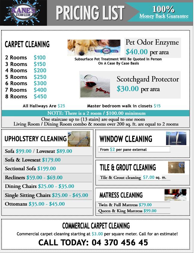 carpet cleaner Swan Hill price