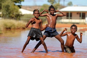 Children in Yuendumu, NT