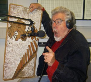 Rolf Harris and his wobbleboard