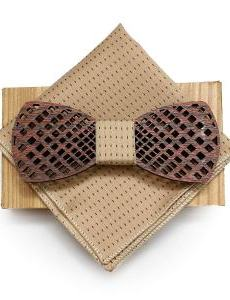 wooden bow tie a Unique Valentine's Gift For Him