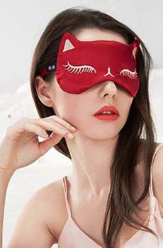 cateye sleep mask