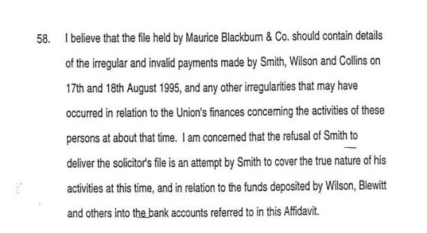 John Cain - Cambridge affidavit - Last page