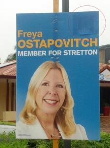 Freya Ostopovitch QLD Elections 2015