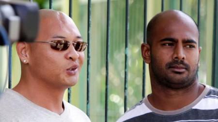 Andrew Chan and Myuran Sukumaran