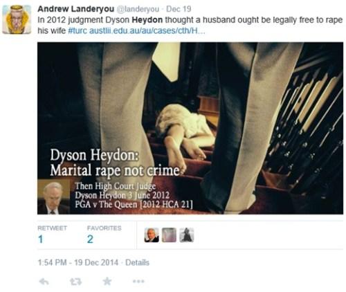 Landeryou - Dyson 19 Dec 2014