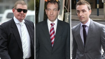 Peter Slipper, Mal Brough and James Ashby