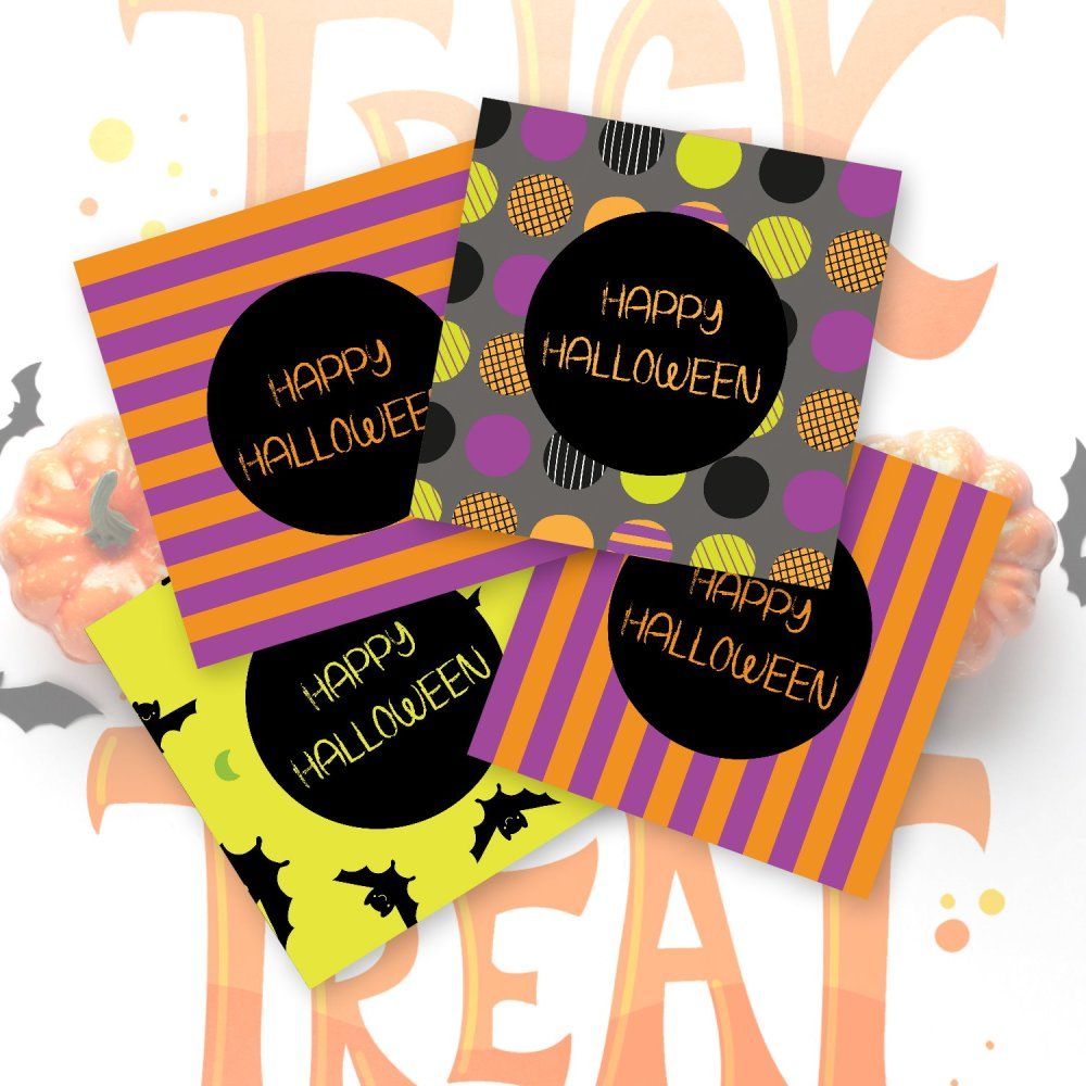 DIY Halloween Monster Mash Party Placemats by Kangaroo Kids Designs