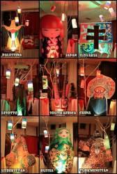 Stand negara asing yang memberikan informasi budaya dan pariwisata di UNS Cultural Night 2012