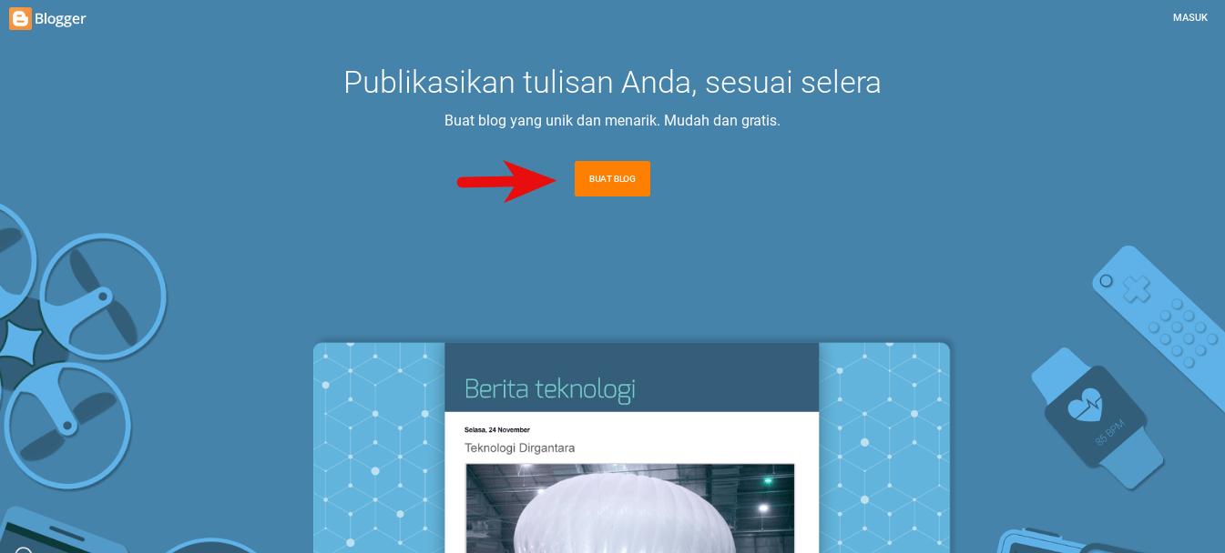 Cara Membuat Blog Untuk Pemula Lengkap dengan Panduan Gambar