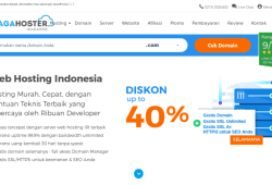 Web Hosting Indonesia, Ya Niagahoster