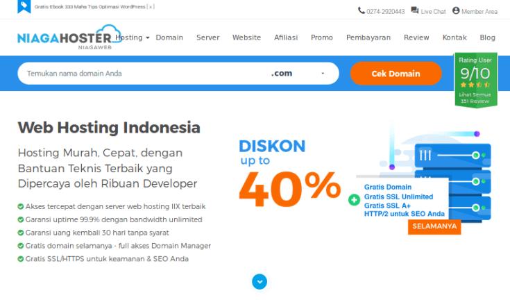 web hosting indonesia