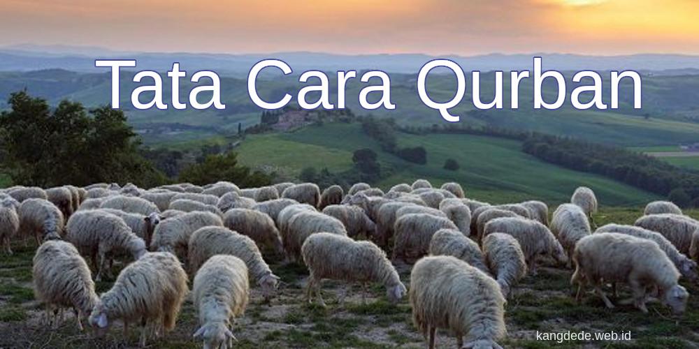 Tata Cara Qurban