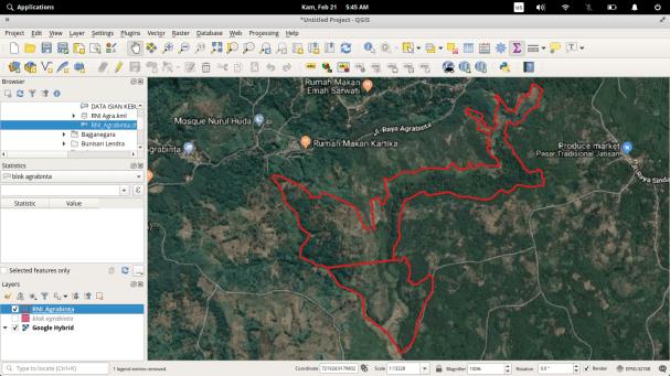 Cara Menambahkan Citra Udara pada Peta pada aplikasi Qgis