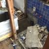 続・旧浴室の解体