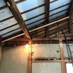 屋根下の断熱加工②