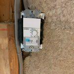 屋根裏空間の換気扇設置