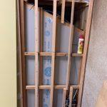 壁面の石膏ボード貼り2