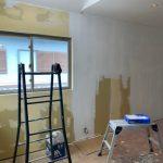 壁面部分の塗装