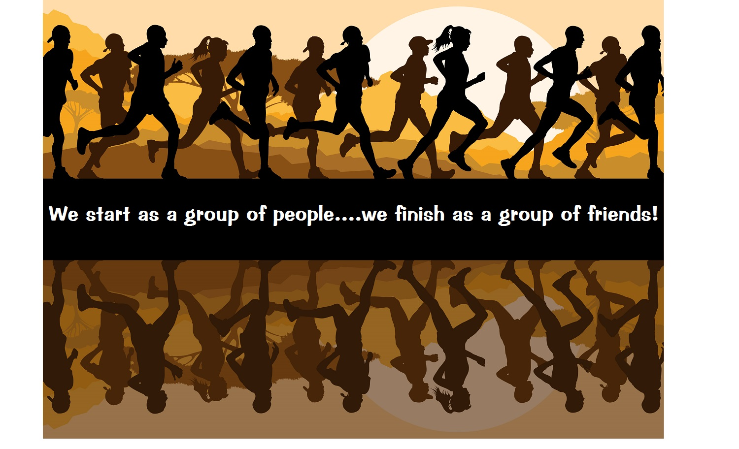 Image result for group running pictures