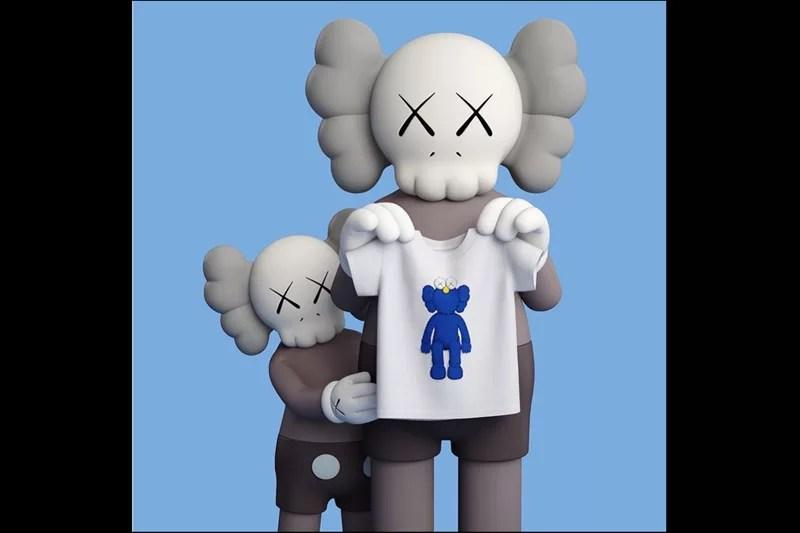ユニクロとKAWSのコラボ限定Tシャツ