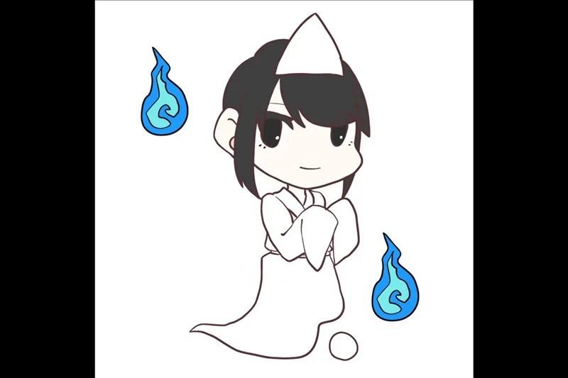 死霊・死者の霊・白装束
