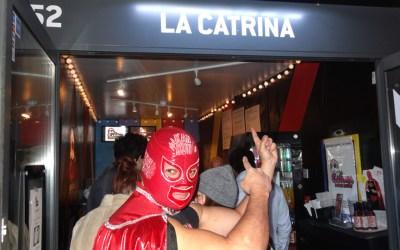 """Kankun sauce at """"La Catrina Opening Party"""""""