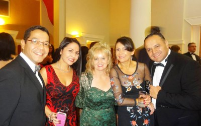 "Kankun Sauce at ""Chavos Ball"" supporting R.C.C. International"
