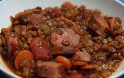 Winter Warmers: Lentil Stew