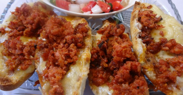 Molletes, Mexican Bruschettas
