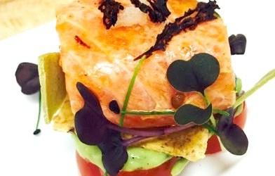 Salmon Ceviche (By Chef Richard McGeown)