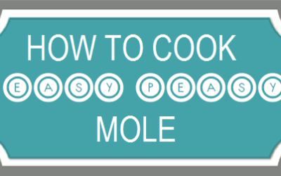 """Cooking mole is """"easy peasy"""""""