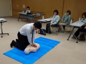 AED実技講習