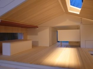 大きな船底天井のある家 設計監理依頼 | 環境建築・美しい ...