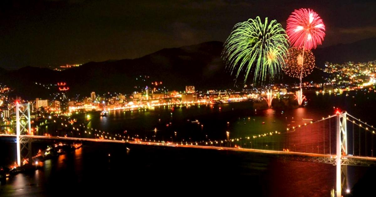 関門海峡花火大会を楽しむ!意外な穴場スポットの研究 | 日本を代表 ...