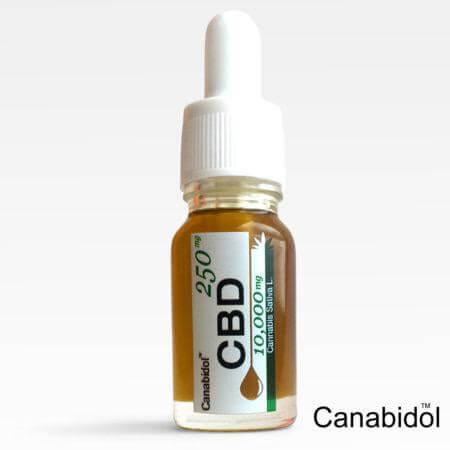 Kannabisz Olaj CBD Csepp 10000 mg CBD 10 ml Kendermagolajban