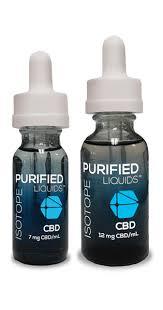 Purified CBD E Liquid Nikotinmentes E Cigi Isotope